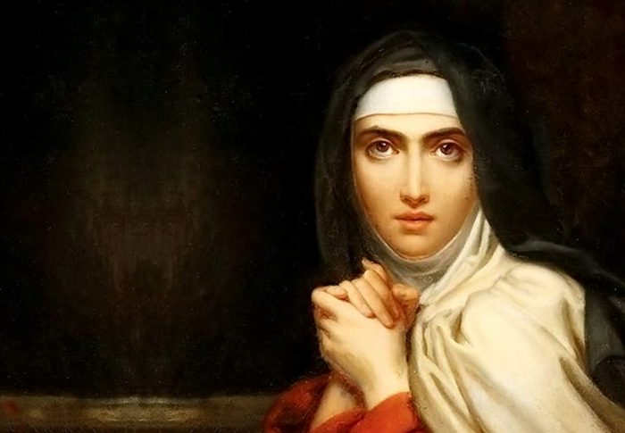 Que se danem todos os demônios, é o que diz Santa Teresa d'Ávila