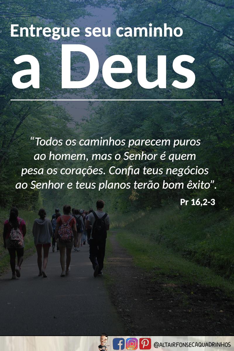 Entregue seu caminho a Deus