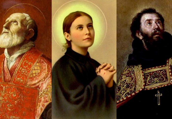 São Felipe Neri, Santa Gemma Galgani e Santo Agostinho falam com você hoje