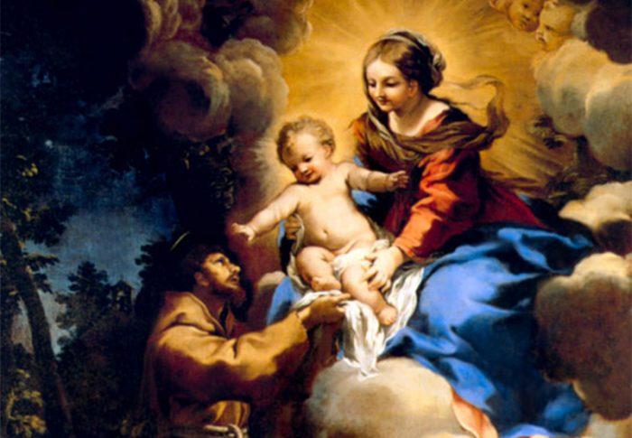 Conheça uma linda oração de São Francisco de Assis à Virgem Maria